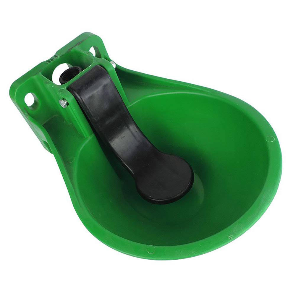 Bidón de agua para caballos, bebedero para perros, de plástico, cuenco de agua automático para vacas, ovejas, caballos, perros, que beben hadas.