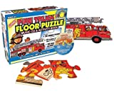 Giant Fire Truck Floor Puzzle (Giant Floor Puzzle & Music CD Sets)