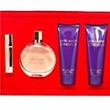 Estee Lauder Sensuous Gift Set -- 3.4 oz EDP Spray, 3.4 oz Satin Body Lotion, 3.4 oz Silk Shower Creme, & .17 oz EDP Spray