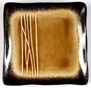 Baum Brothers Galaxy Amber Appetizer Plate Fine China Dinnerware & Amazon.com | Baum Brothers Galaxy Amber Appetizer Plate Fine China ...