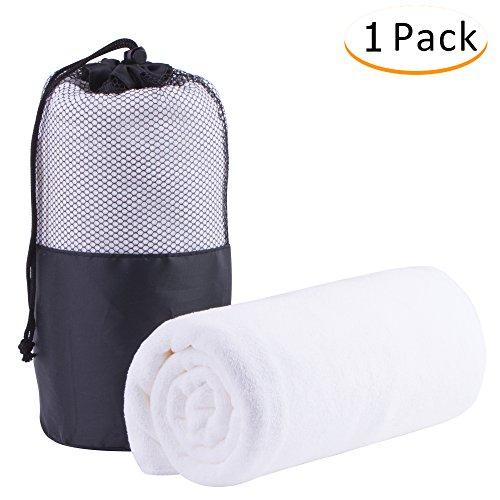 "Jml Microfiber Oversized Towel 27"" x 55"" - Super Absorbent a"