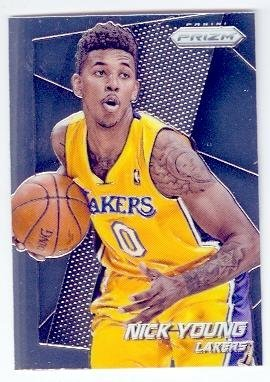 Nick Young basketball card (Los Angeles Lakers Swaggy P) 2013 Prizm Chrome #40