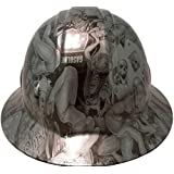 Texas America Safety Company Hydro Dipped Full Brim Style Hard Hat - Shaw Naughty Dirty Side