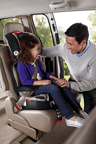 513Tt2WujML - Graco AFFIX Backless Booster Car Seat, Pierce