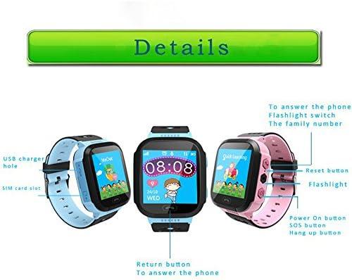 Q528 - Reloj Inteligente para Niños con Pantalla Táctil de 1,44 Pulgadas, Monitor antipérdida, Reloj de Seguimiento GPS para Localización de Llamadas