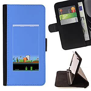 Jordan Colourful Shop - Pc Retro Gaming Game 80'S Vintage For Apple Iphone 6 PLUS 5.5 - Leather Case Absorci???¡¯???€????€???????