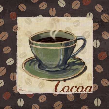 Cup of Joe I - Fine Art print on canvas stretched Gallery wrap style on sturdy 24 x 24 Inch poplar wood Frame - READY TO HANG