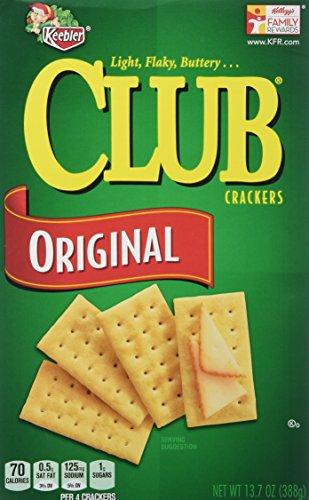 Keebler Club Crackers Original, 13.7 Oz. (Pack of 2)