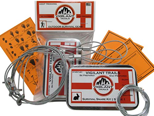 Vigilant Trails Pocket-Survival Snare