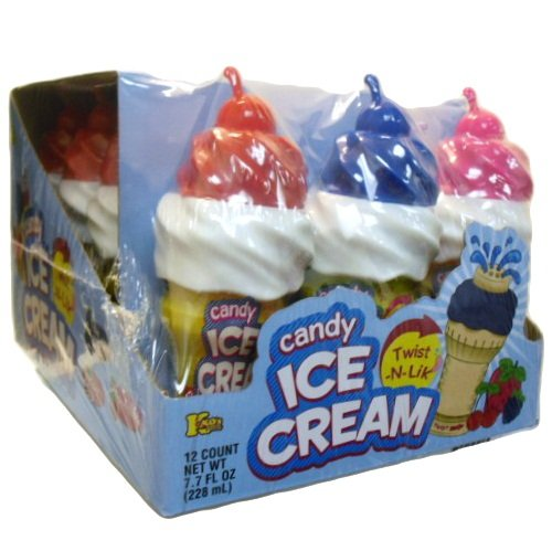 Wholesale Candy Ice Cream Twist-N-Lik Asst Flvrs