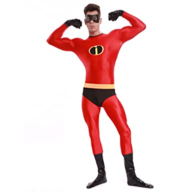 Ourworth Mr Incredible Costume Menu0027s The Incredibles Costume ...  sc 1 st  Amazon.com & Amazon.com: Ourworth Mr Incredible Costume Menu0027s The Incredibles ...