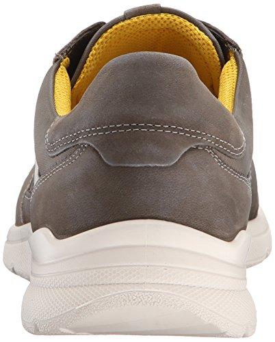 Ecco Mens Irondale Retro Sneaker Moda Sneaker Asfalto