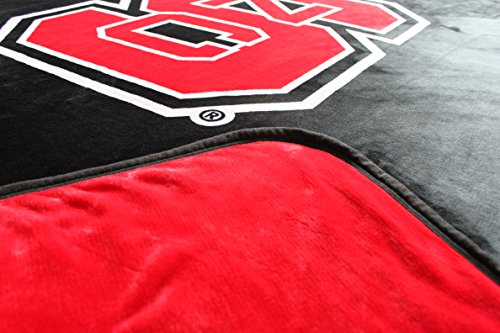 Dormitory 101 NC State University Wolfpack Premium Plush Fleece Blanket - 60''X80'' - New to Market! by Dormitory 101 (Image #2)