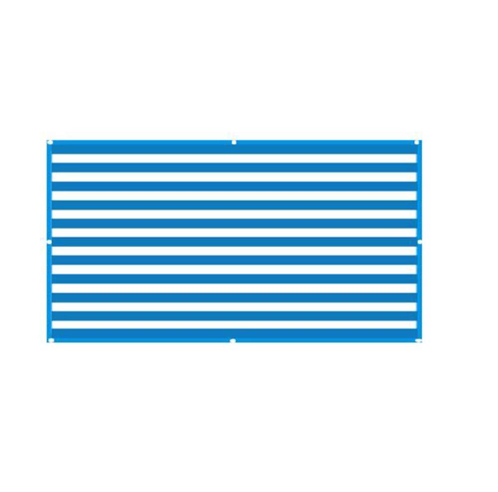 Guoyajf Tenda da Sole Tenda A Vela Rettangolo, Rete da Sole Tenda da Sole Resistente Ai Raggi UV per Copertura Vegetale per Serra Fiori, Piante, Patio Prato Attrezzature All'aperto E attività,2M×5M