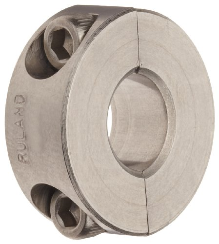 0.438 Socket (Ruland SP-7-SS Two-Piece Clamping Shaft Collar, Stainless Steel, .438
