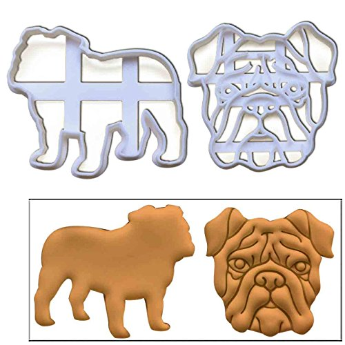 bulldog cookie cutter set - 2