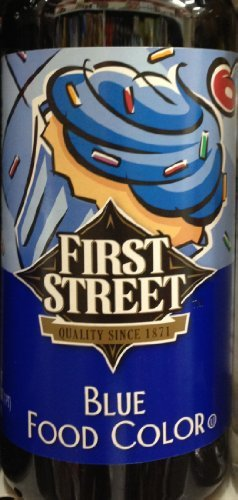 Blue Food Coloring by First Street Brand, 16 Ounce, Pack of 1 by First Street