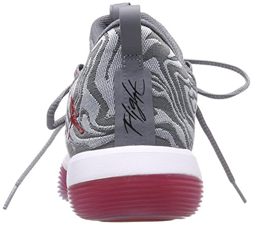 Cool Wolf Baloncesto Hombre Low para White Zapatos 2017 Fly 004 de Grey Nike Multicolor Grey University Jordan Super Red qI0wx8PZ