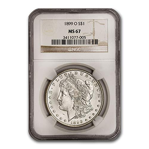 1899 O Morgan Dollar MS-67 NGC $1 MS-67 NGC