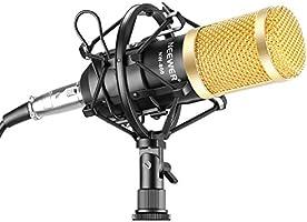 Neewer NW-800 Professional Studio Broadcasting & Recording Microphone Set Including (1)NW-800 Professional Condenser...
