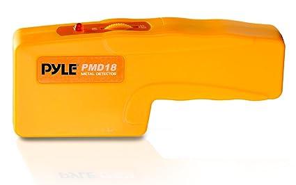 Pyle PMD43 - Detector de metales de bolsillo (con alarma sonora y luz led)