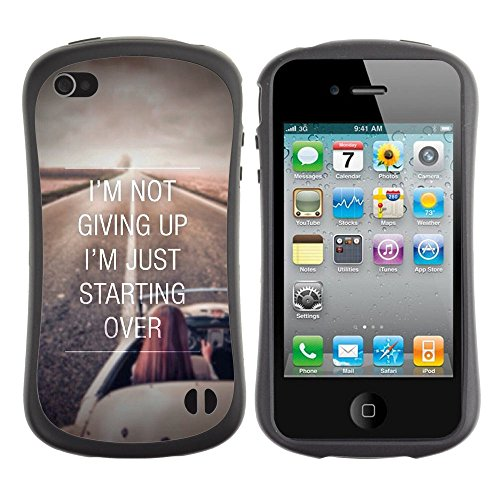 Apple Iphone 4 / 4S [Not Giving Up Just Starting Over Parallax]