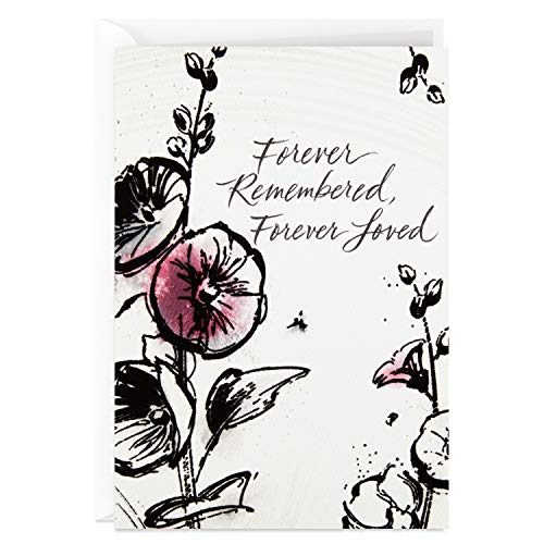 Hallmark Sympathy Card for Loss of Wife, Mother, Sister (Forever Love)