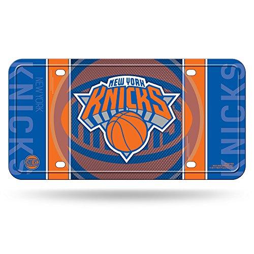 NBA New York Knicks Metal License Plate - Tattoo New Knicks York