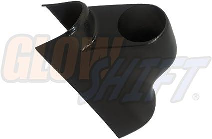 Mounts 2-3//8 1 GlowShift Black Single Pillar Gauge Pod for 2003-2009 Dodge Ram Cummins 1500 2500 3500 Gauge to Trucks A-Pillar 60mm ABS Plastic