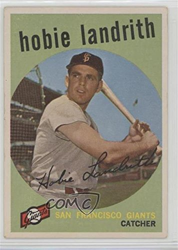 hobie-landrith-baseball-card-1959-topps-base-422