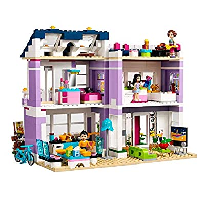 LEGO Friends 41095 Emma's House: Toys & Games