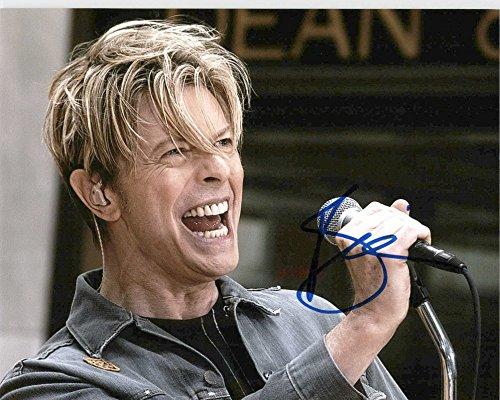 David Bowie Signed Autographed 8 X 10 Reprint Photo - Mint Condition