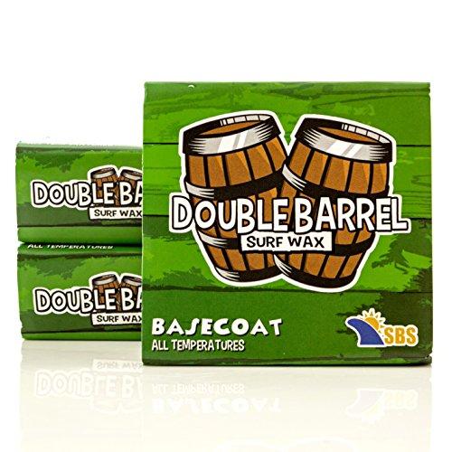 Double Barrel Surf Wax - Base Coat - 3 (3 Pack Base)