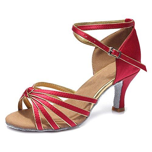 para Baile HIPPOSEUS Mujer de Latino Sat Zapatillas qwEREUrIz