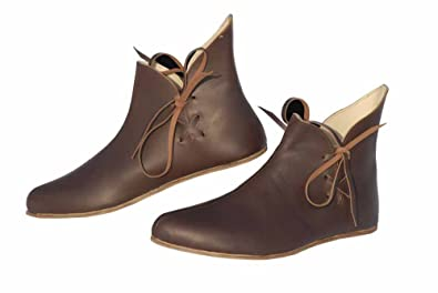 19847403b30bd Viking Shoes / Medieval Leather Shoes / Historical / Reenactment ...