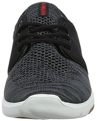 Etnies Men's Scout Yb Trainers Black (565-black/Dark Grey/Red 565) Lv1ejy