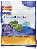 Nylabone Advanced Oral Care Dental Heart Chips Dog Treats, 14-Count Pouch