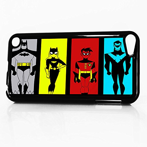 ( For iTouch 5 iPod Touch 5 ) Phone Case Back Cover - HOT10974 Batman Robin Cat Woman