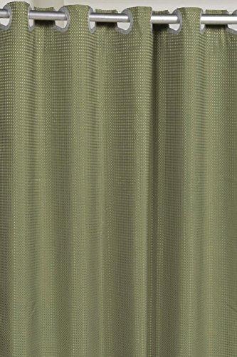 sage green shower curtain - 9