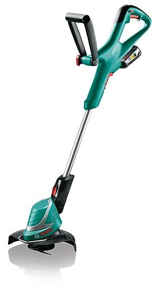 Bosch Home and Garden 06008A5E05 ART 26-18 Li 2,5 Ah Cortabordes a batería, 18 V, Negro, Verde