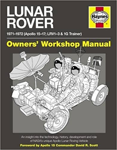 lunar rover manual 1971 1972 apollo 15 17 lrv1 3 1g trainer
