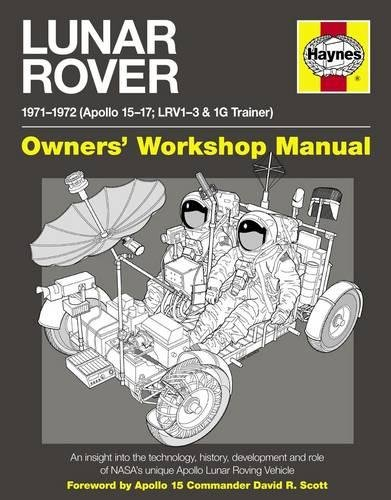 Lunar Rover Manual: 1971-1972 (Apollo 15-17; LRV1-3 for sale  Delivered anywhere in USA