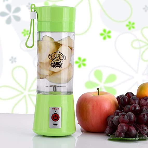 Amazon.com: Electric Fruit Juicer Machine Mini Portable USB Rechargeable Smoothie Maker Shake Juice Slow Juicer Bottle Squeezers Cup juicer: Kitchen & ...