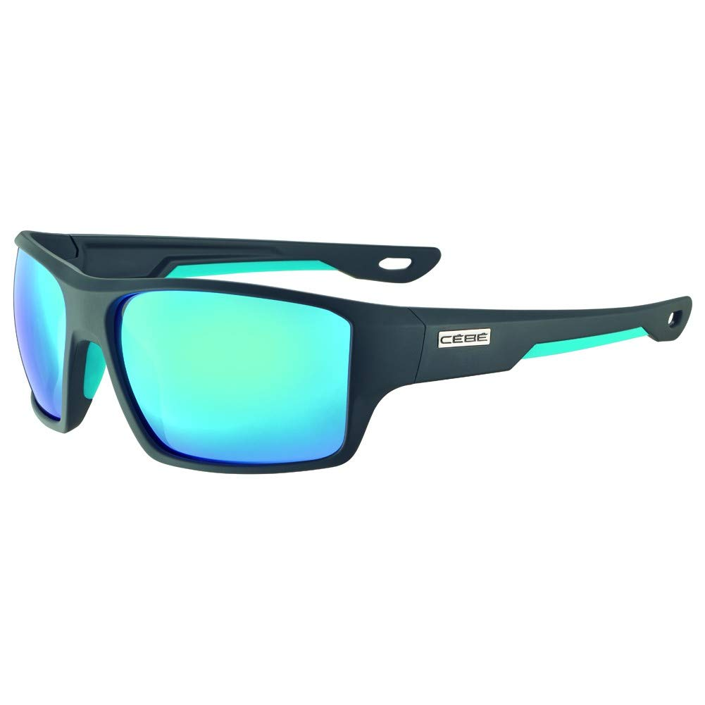 Cébé Strickland Gafas de Sol Adultos Unisex Matt Black Lime Large
