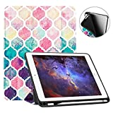 Fintie iPad 9.7 2018 Case with Built-in Apple Pencil Holder - [SlimShell] Lightweight