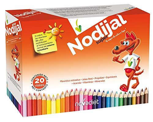 Novadiet Nodijal Super, Jalea Infantil en Viales - 20 Unidades: Amazon.es: Salud y cuidado personal