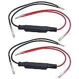 2pcs Motorcycle LED Flasher Turn Signal Indicator Resistor Adaptor 12V Universal