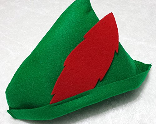 Peter Pan Hat Party Favors (Robin Hood) - Party Pack - Available in sets of 6, 8, 10 or 12