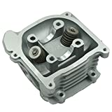 Glixal ATMT1-009 GY6 50cc to 80cc Chinese Scooter Engine 47mm Cylinder Head Assy 64mm valve for 139QMB 139QMA Moped ATV Quad Go Kart (Non EGR Type)