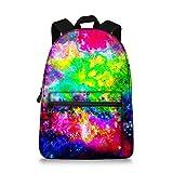 Jeremysport Unisex TrendyMax Galaxy Pattern Grade Backpack for Elementary Kids